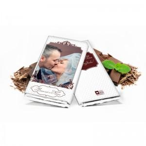 Šokolādes tāfele 100 grami ar bildi