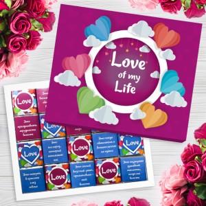 Liels Šokolādes komplekts Love is